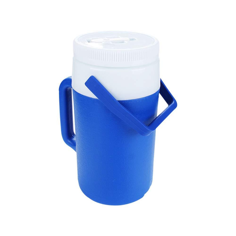 Ambiguity Kühlboxen,2 L Isolierung Plastikfaß Hot & kalt dual Grillplatz Reisen Cup