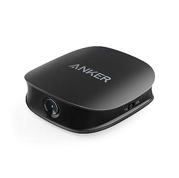Anker AK de a3341011 Adaptador Sonido Sync, de 2 en 1 emisor y Receptor con Bluetooth 5: Amazon.es: Electrónica