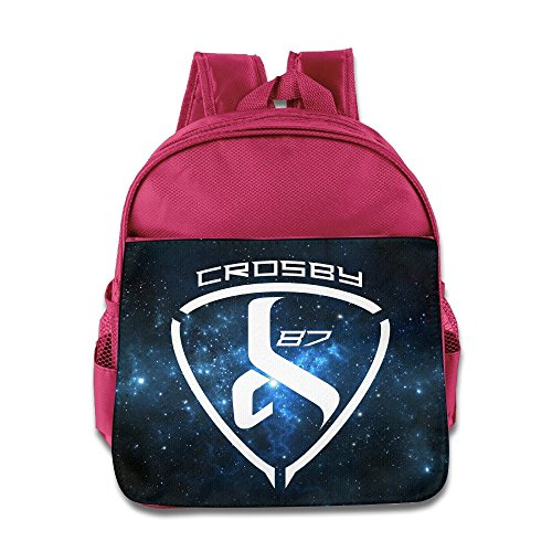 [VOLTE Hockey Player Pink Backpack Bag For Children School Travel Schoolbag] (Hockey Stanley Cup Costume)