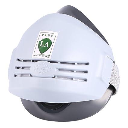 Anti-Polvo de la máscara del respirador para Soldador Soldadura Pintura Máscara Pulverización cartucho de gas: Amazon.es: Industria, empresas y ciencia