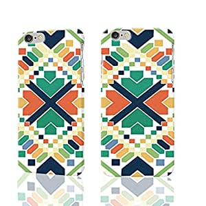 building block color Photo Plastic Hard Customized Personalized 3D Case For iphone 6 4.7