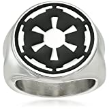 Star Wars Jewelry Imperial Symbol Stainless Steel Men's Ring, Size 13