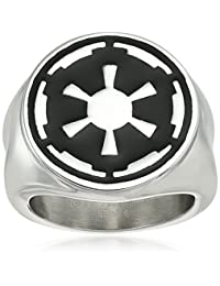 Star Wars Jewelry Imperial Symbol Stainless Steel Ring
