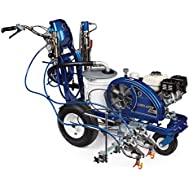 Graco LineLazer V 130HS Hydraulic Airless Paint Line Striper with 2-Manual Guns - HYDRAULIC PERFORMANCE FOR EVERYDAY...