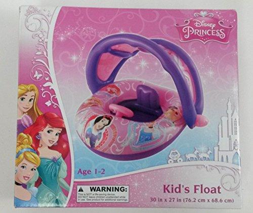 Disney princess inflatable kids float with optional sun for Princess float ideas