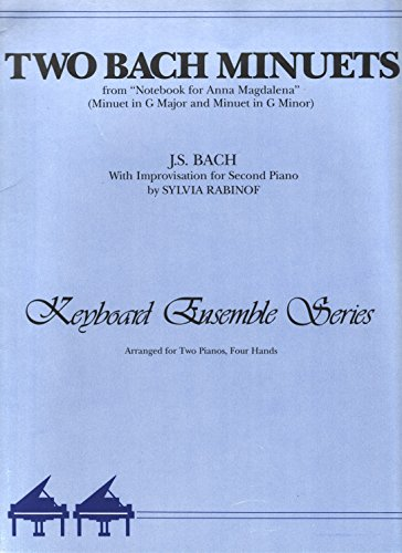 Two Bach Minuets From
