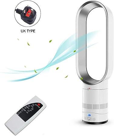 EZSMART Ventilador sin aspas, 65 cm de seguridad de iones ...