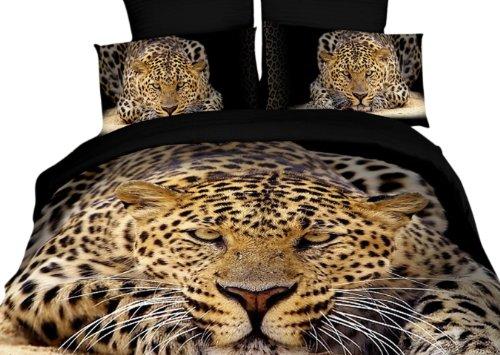 Dolce Mela DM400K Ghepardo King Duvet Cover Set