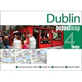 Dublin PopOut Map: pop-up city street map of Dublin city centre - folded pocket size travel map (PopOut Maps)