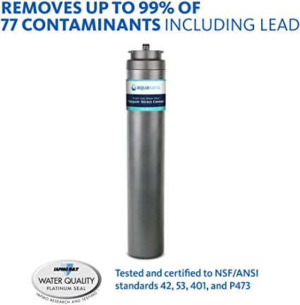 Claryum Direct Connect Under Counter Filtration System AQ-MF-1-R Aquasana Under Sink Water Filter Replacement