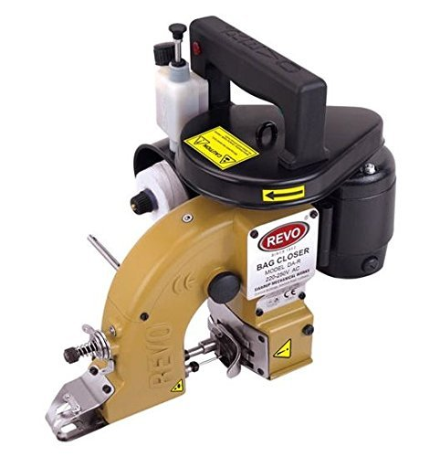 Revo by JN International Cast Iron Bag Closer Sewing Machine with Automatic Lubrication System (DA)
