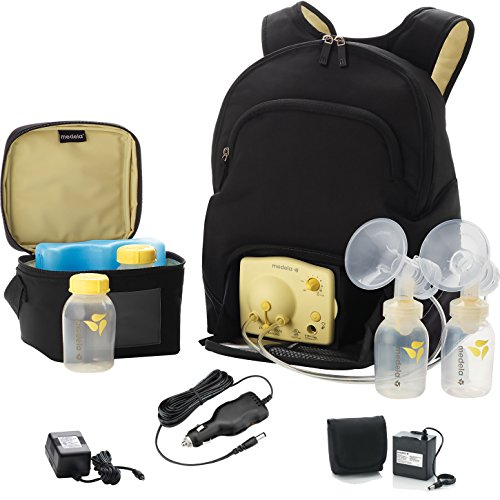 Medela Pump in Style Backpack w/ Vehicle Lighter Adaptor