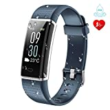 KARSEEN Fitness Tracker, Activity Tracker Fitness Watch Heart Rate Monitor Colorful OLED Screen Smart Watch With Sleep Monitor, Step Counter, IP68 Waterproof Pedometer for Android&iOS Phone (Grey) For Sale