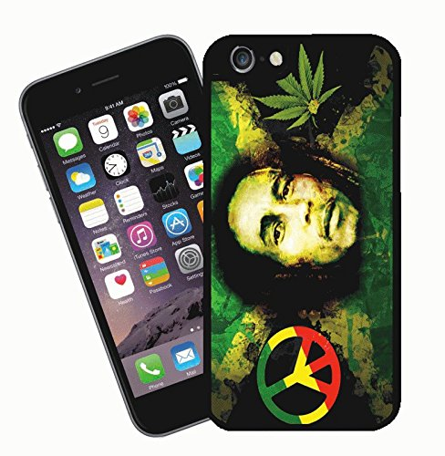 Bob Marley - This cover will fit Apple model iPhone 7 (not 7 plus) - By Eclipse Gift Ideas