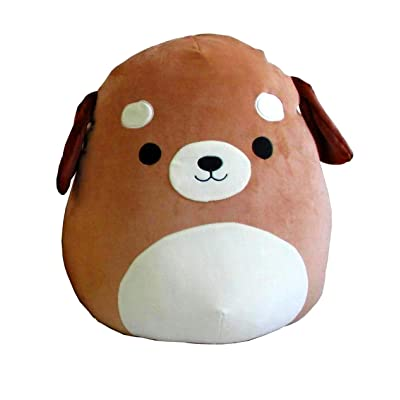 Squishmallow Large Pillow Plush Toy, 16 inches (Dog: Toys & Games