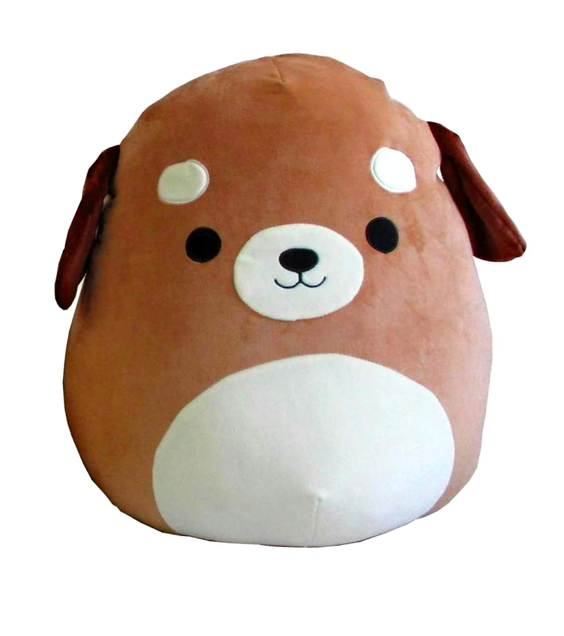 Squishmallow Large Pillow Plush Toy, 16 inches (Dog by Squishmallow