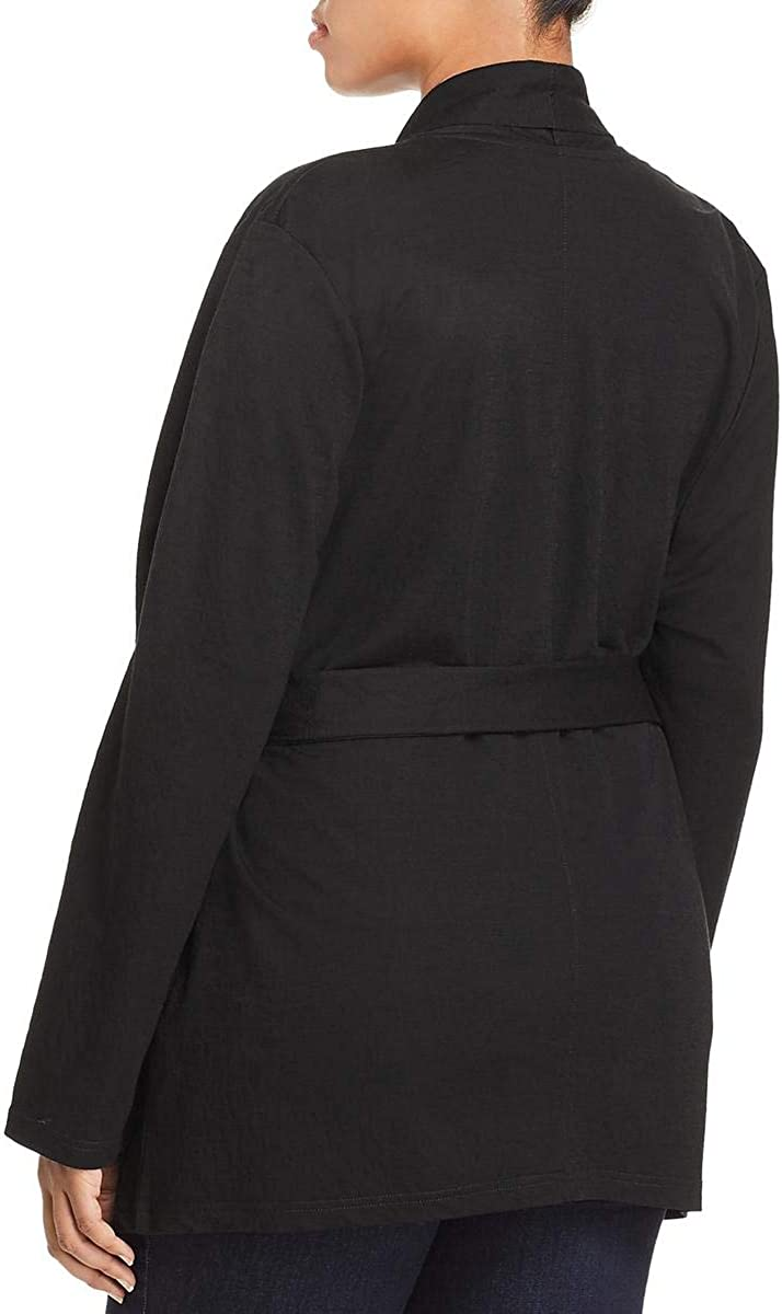 Bagatelle Womens Plus Open Front Business Jacket