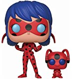 Funko POP! and Buddy: Miraculous Ladybug with Tikki Collectible Figure, Multicolor