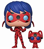 Funko Pop and Buddy: Miraculous-Ladybug with Tikki Collectible Figure, Multicolor