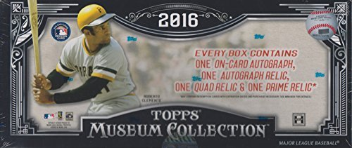 Collection Hobby Box (2016 Topps Museum Collection Baseball Hobby Box)