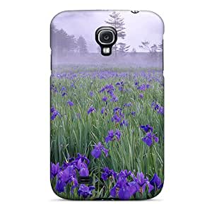 CAx66DxGE Amazing Lscapes Flowers Fashion Tpu S4 Case Cover For Galaxy