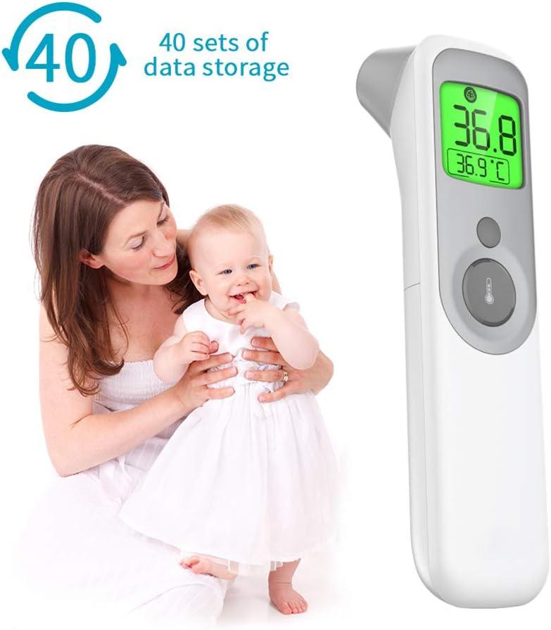 KANGBEI Termometro Senza Contatto Tester Temperatura corporea termometro Digitale termometro a infrarossi Fronte Orecchio LCD