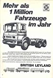 1970 British Leyland Truck Ad German Grove Crane