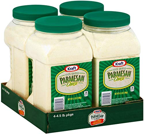 Kraft Grated Parmesan Cheese - 4.5 lb. container - CASE PACK OF 4 by Kraft (Image #3)