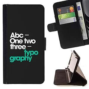 Kingstore / - 123 Typography - Apple Iphone 5 / 5S