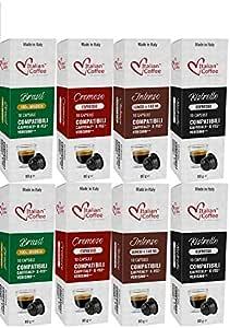 Caffitaly -Capsulas de Cafe Compatibles 80 ud 4 Variedades Degustación: Amazon.es: Alimentación y bebidas