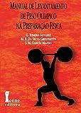 capa de Manual de Levantamento de Peso Olímpico na Preparação Física
