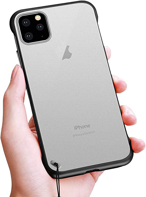 11 Promax Case Compatible with Apple iPhone 11 Pro Max Cases Clear  Transparent Thin Slim Ring I IP 11promax Cover ihone Hone 6.5 Inch (Black):  Amazon.ca: Cell Phones & Accessories