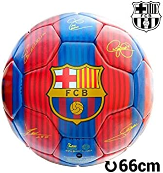 Balón de fútbol. Balón oficial futból club Barcelona. Balón con ...