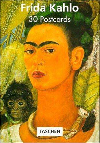 30 frida kahlo postcard book