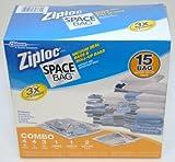 Ziploc Space-Super Pack-30-Bag Set (Space-Saver)