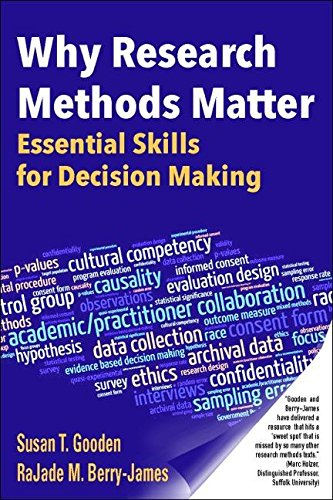Why Research Methods Matter: Essential Skills for Decision ()