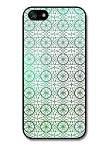 Circle and Geometrical Stained Glass Pattern Case For Sam Sung Note 4 Cover