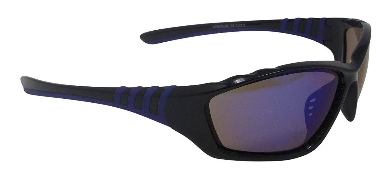 Armour Sport Lunettes de soleil Bleu Miroir cat-3Verres incassables UV400 OCBimGdF