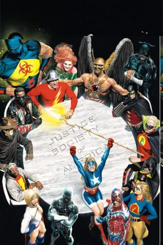 Justice Society of America (JSA) #1 Poster By Alex Ross 24