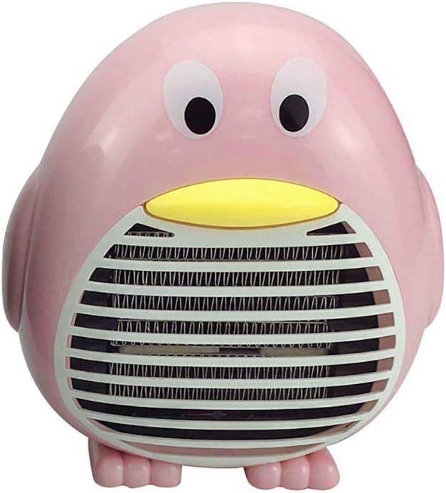 Yajun Mini Calentador Eléctrico Portátil Ventilador Radiador De Escritorio Forma De PingüIno Hogar Convector Inteligente Calefacción para Regalo,Pink: Amazon.es: Deportes y aire libre