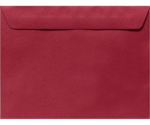 6 x 9 Booklet Envelopes - Garnet Red (1000 Qty.) Envelopes Store EX4820-26-1M