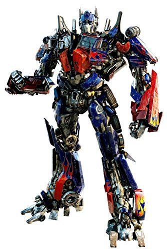 Transformer Wall Decal - Optimus Prime - Giant Wall Sticker Decor Party Decoration (Optimus Prime (Transformers Wall Stickers)