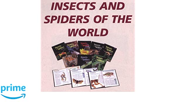 Amazon Insects And Spiders Of The World 9780761473343 Robert