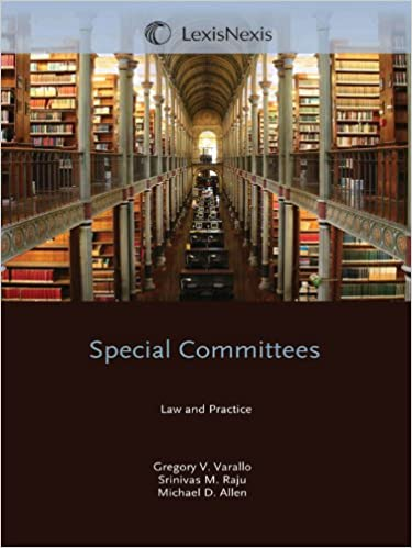 Amazon com: Special Committees: Law & Practice (2011 Edition
