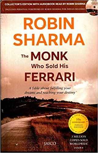 Buy The Monk Who Sold His Ferrari (With CD) Book Online at Low ...