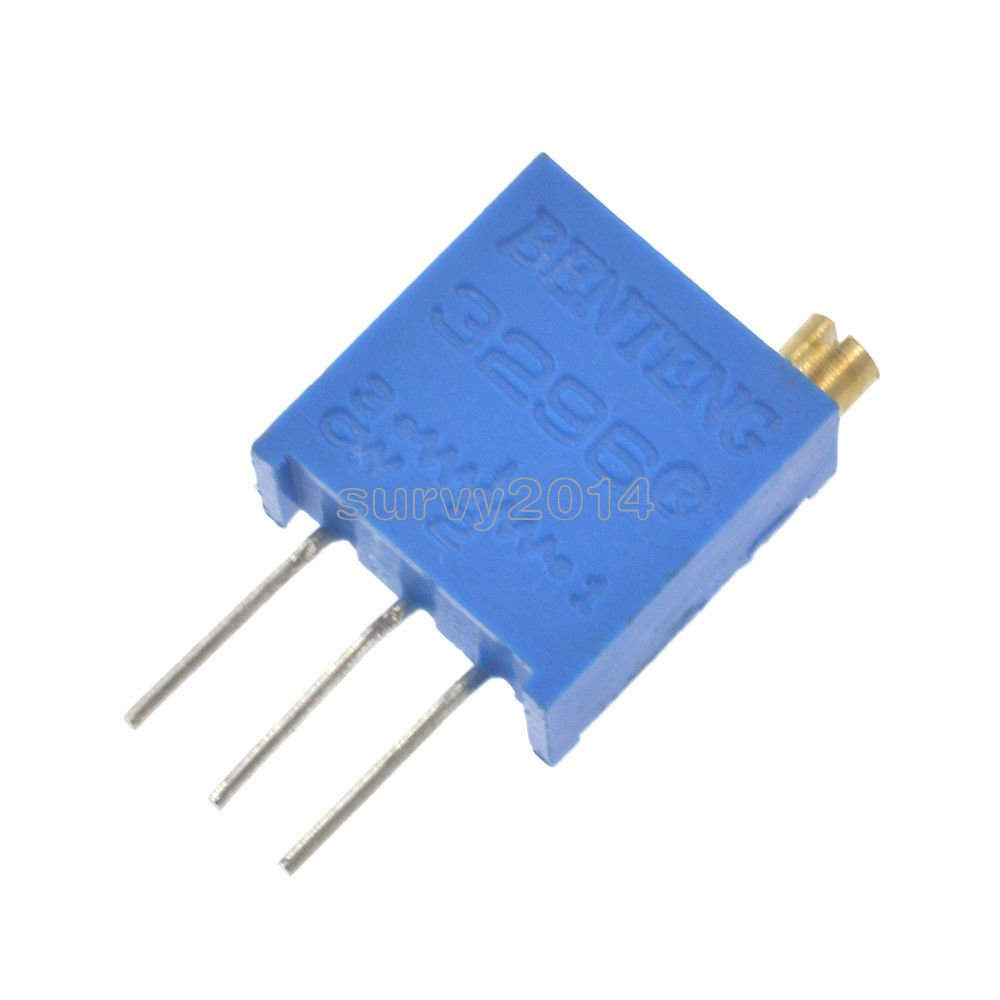 Exiron 100 pcs Thermistor Temperature Sensor NTC MF58 3950 B 50K ohm 5% DIY New