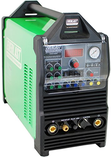 2015 Everlast PowerPro 205S 200a Tig Stick Pulse 50a plasma cutter Multi-Process Welder