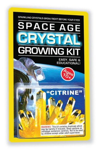 Space Age Crystal Growing Kit: Citrine (Space Age Crystals) PDF