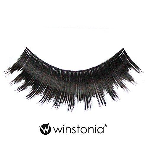 Winstonia 5 Pairs False Eyelashes Fake Lashes Fashion Makeup Cosmetic - Thick & Sassy 02