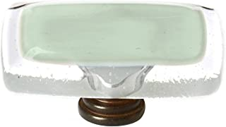 product image for Sietto LK-712-ORB Reflective 2 Inch Long Rectangular Cabinet Knob